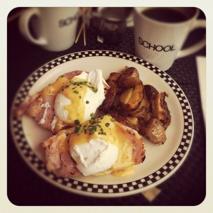 Eggs Benny - School