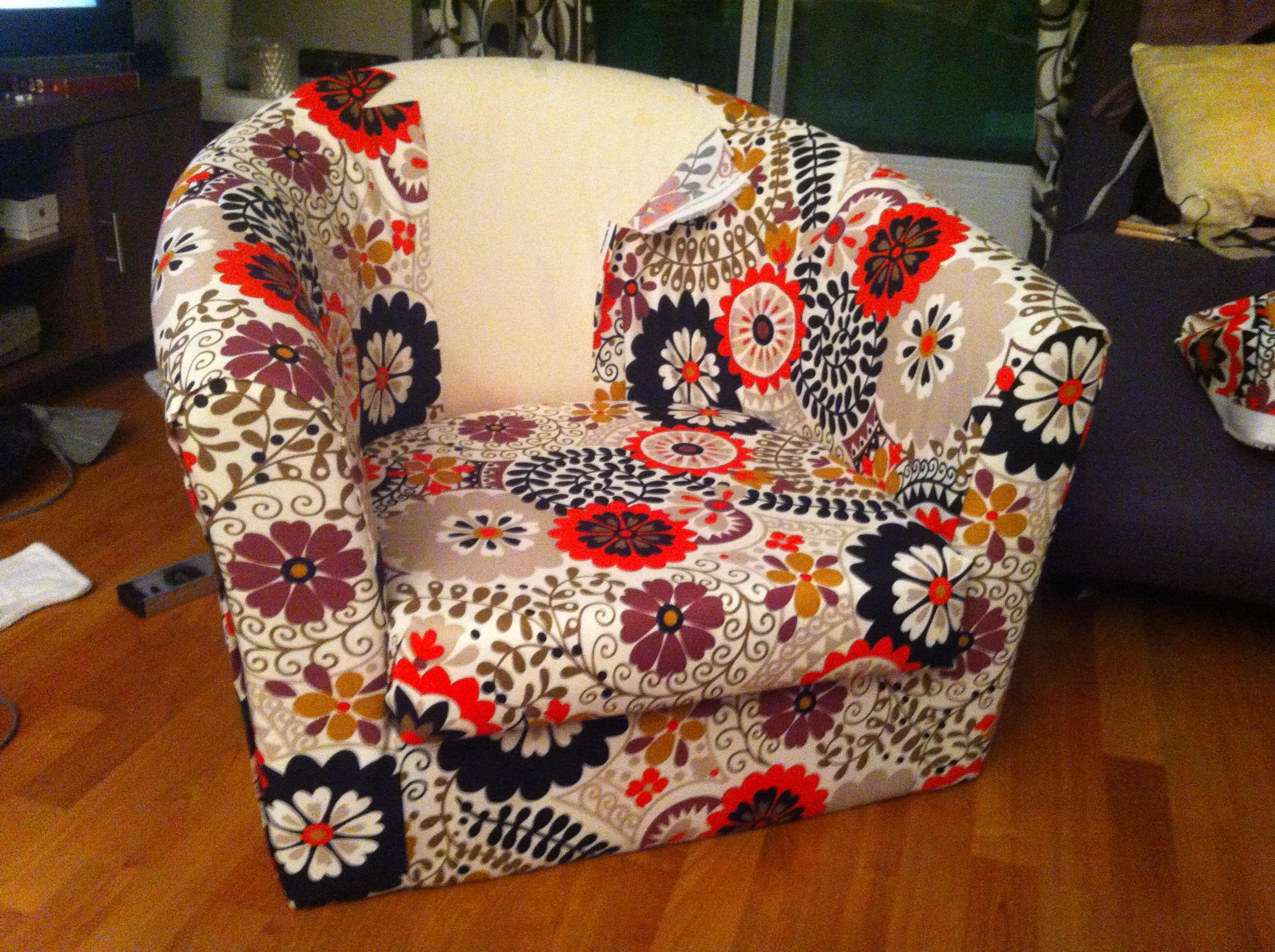 DIY Upholstery - IKEA Tullsta | Random Relevance