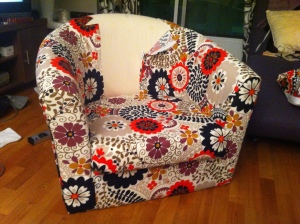 Ikea Upholstery Project ___