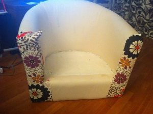 IKEA Upholstery Project