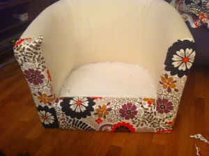 Ikea Upholstery Project_