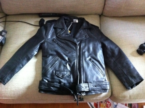 Melanie's Leather Jacket