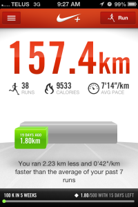 Nike Plus - Melanie Apr 18 - Ready for a 10K?