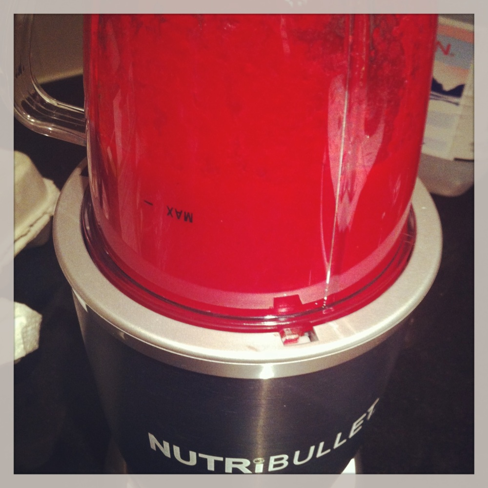 Juicing - V8 Inspired - Blending - Nutribullet