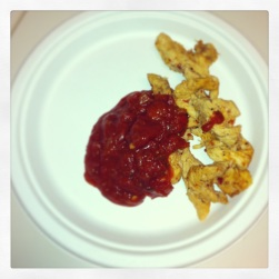 Chicken and Salsa - as simple as that