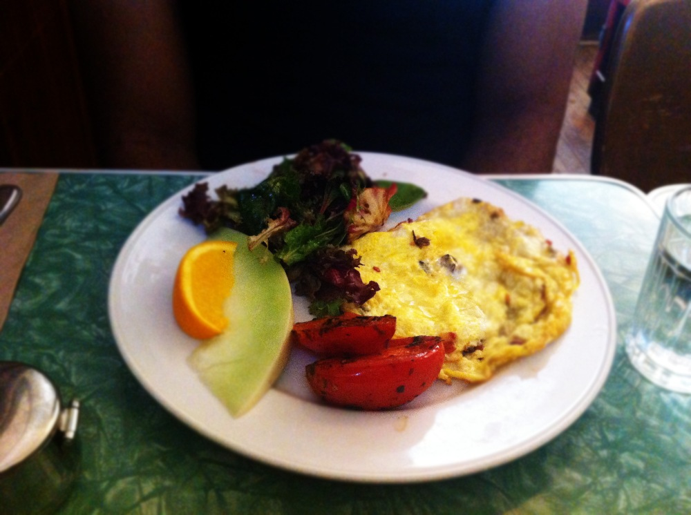Swan - Omelette of the day - July