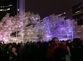 Ai Weiwei - A new Toronto edition of Forever Bicycles using 3,144 interconnected bicycles