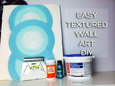 Textured Wall Art DIY