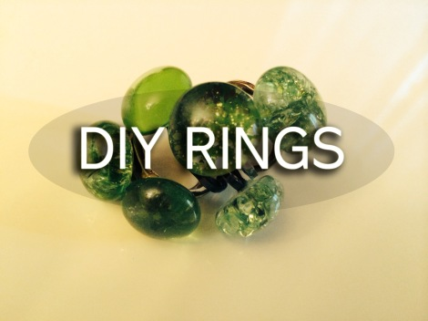 DIY Cocktail Ring Tutorial