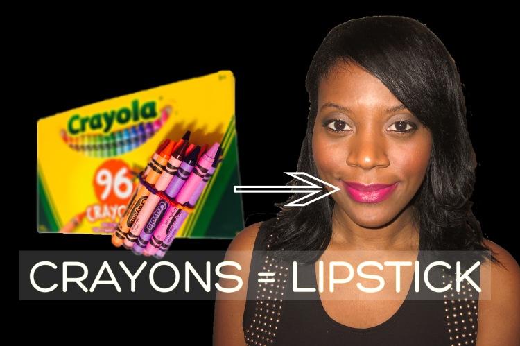 Crayon Lipstick DIY