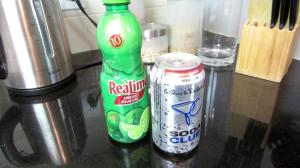 Soda water as pop/soda alternative