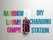 Rainbow Loom/GImp Phone Holder, Charging Station